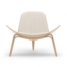 Carl Hansen CH07 Shell Lounge Chair vel accumsan l...